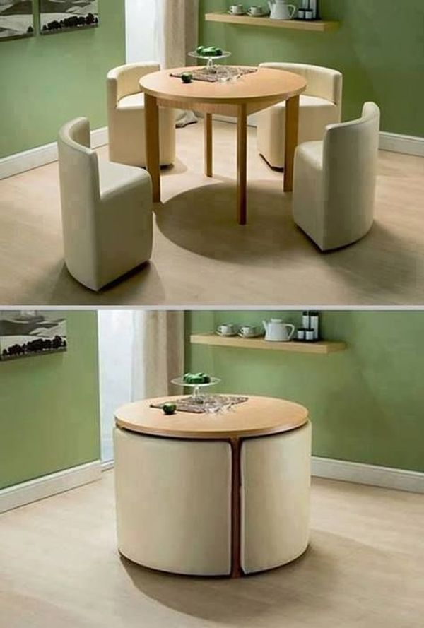 round-dining-table-with-chairs-space-saving-idea
