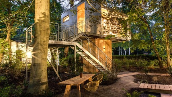Who Doesn't Love a Tree-house?