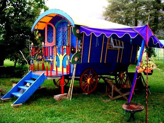 "The ""Gypsy Wagon"""
